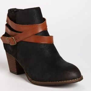 DOLCE VITA | Java Leather Strappy Ankle Booties